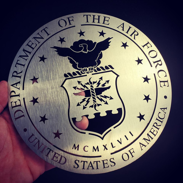 "8"" stainless USAF Seal"