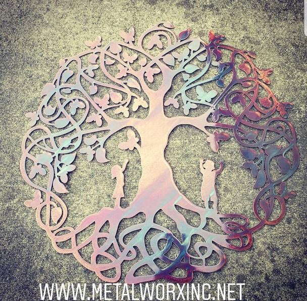 Butterfly Celtic Tree of life
