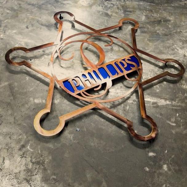 Metal Worx Inc >> Sheriff S Star Monogram Metal Worx Inc