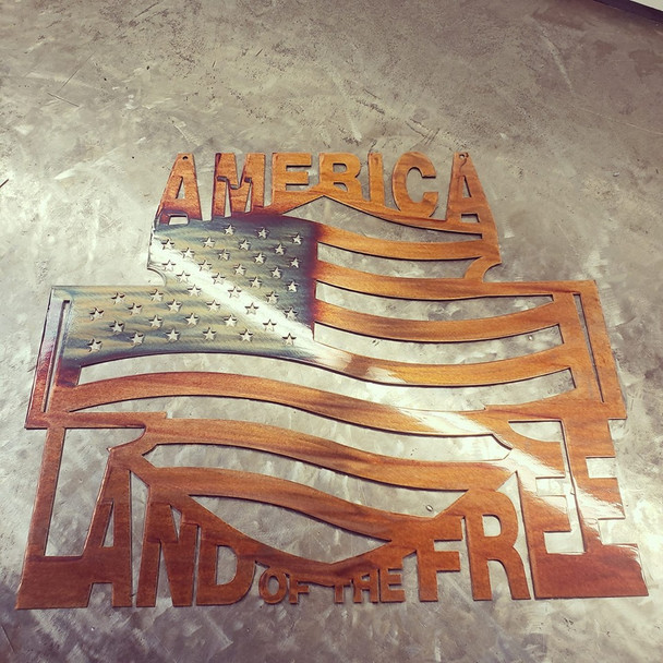 """America Land of the Free"""