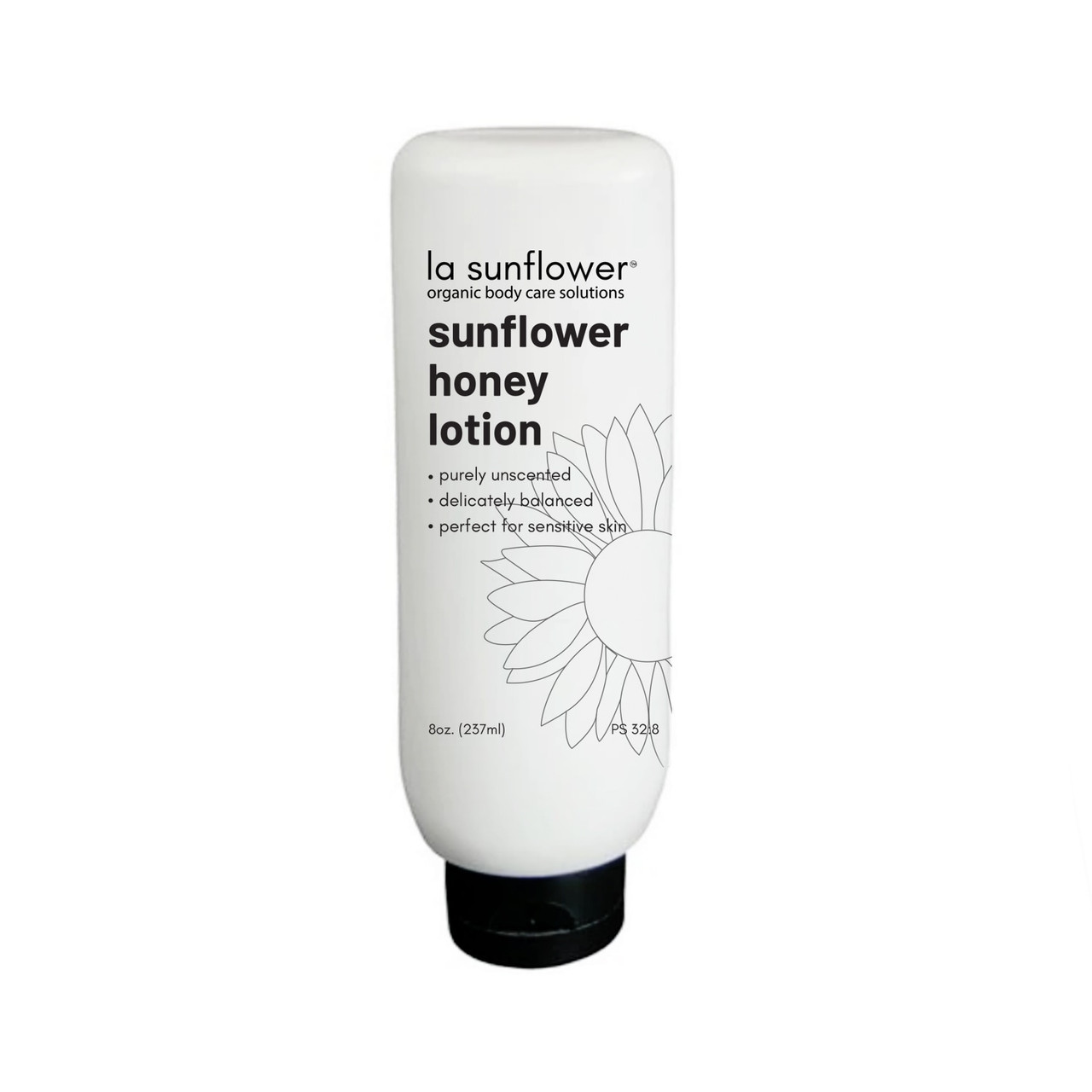 Sunflower Honey Lotion   Unscented; Perfect For Sensitive Skin