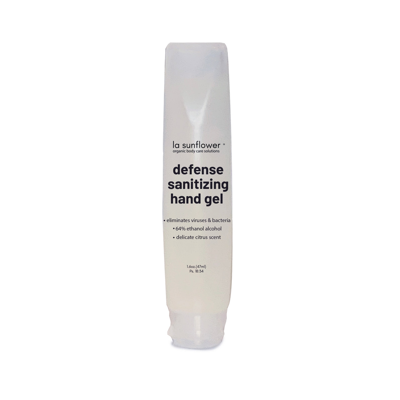 A powerful 64% alcohol and citrus gel for on-the-go cleansing of hands and surfaces that leaves skin moisturized. Perfect for slipping in a pocket, purse or back pack.
