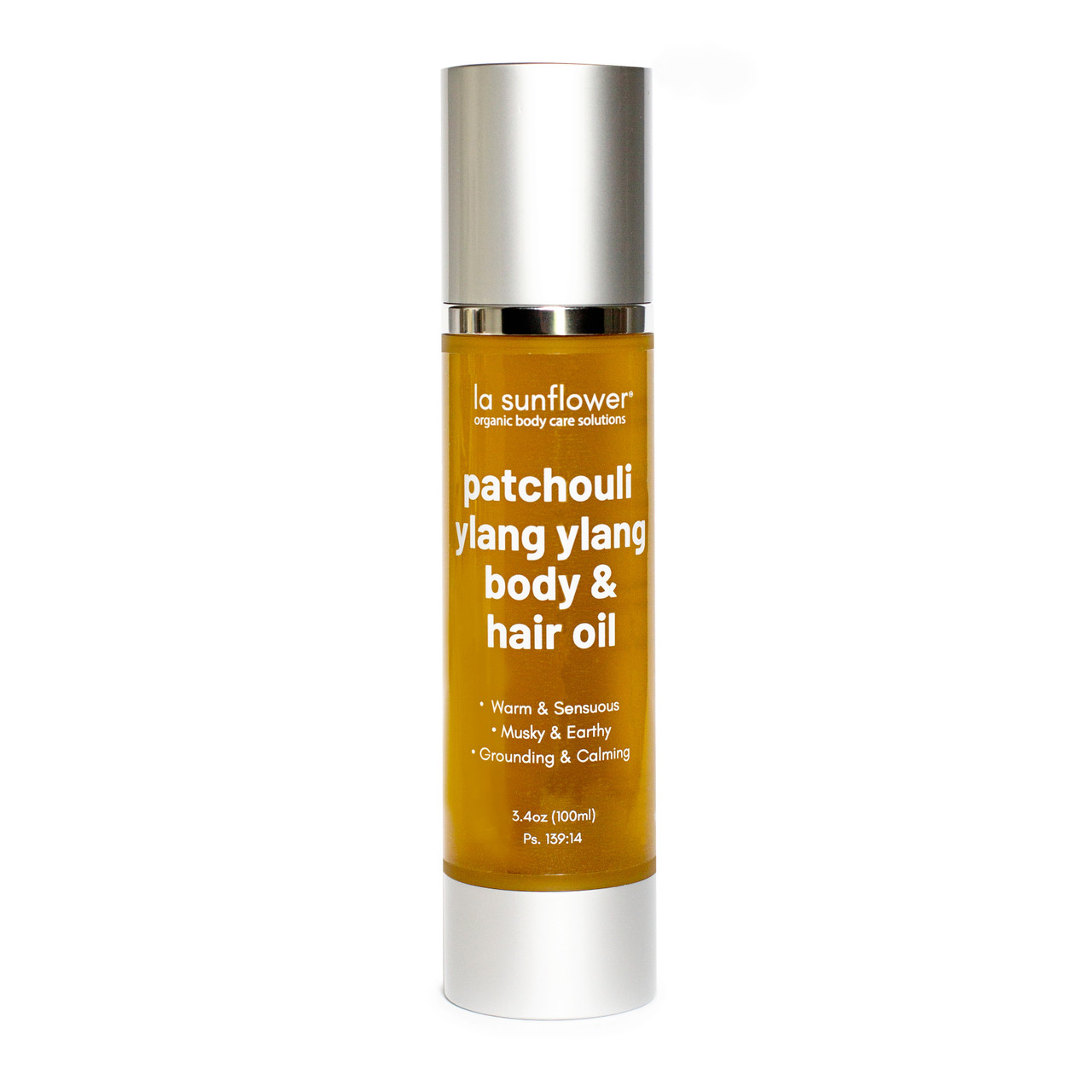Patchouli Ylang Ylang Body & Hair Oil: Silky Hydration