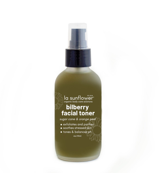 Bilberry Facial Toner