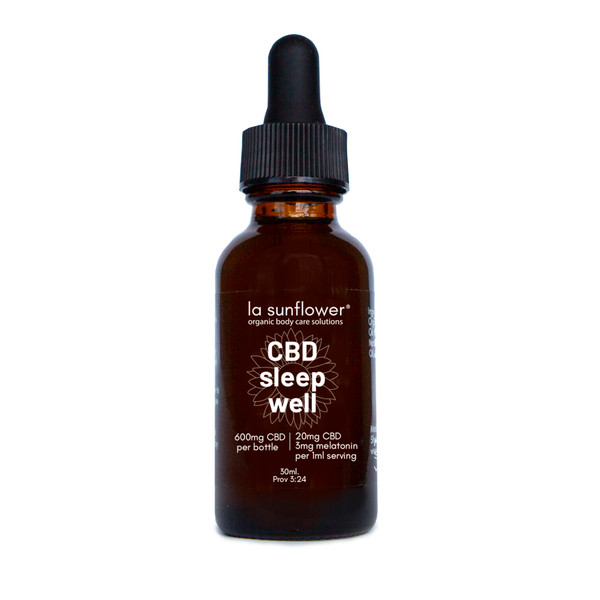 CBD Full Spectrum Sleep Well: 600mg/CBD