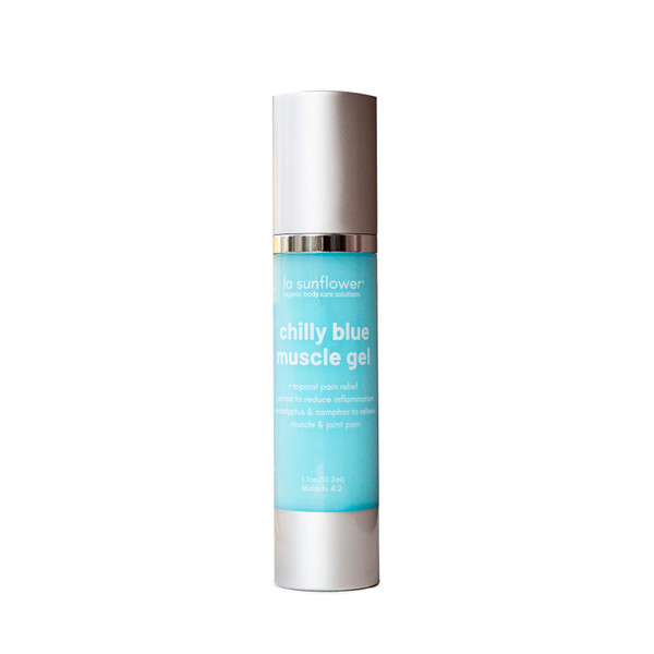 Chilly Blue Muscle Gel: State of the Art-Cooling Muscle Relief Blend