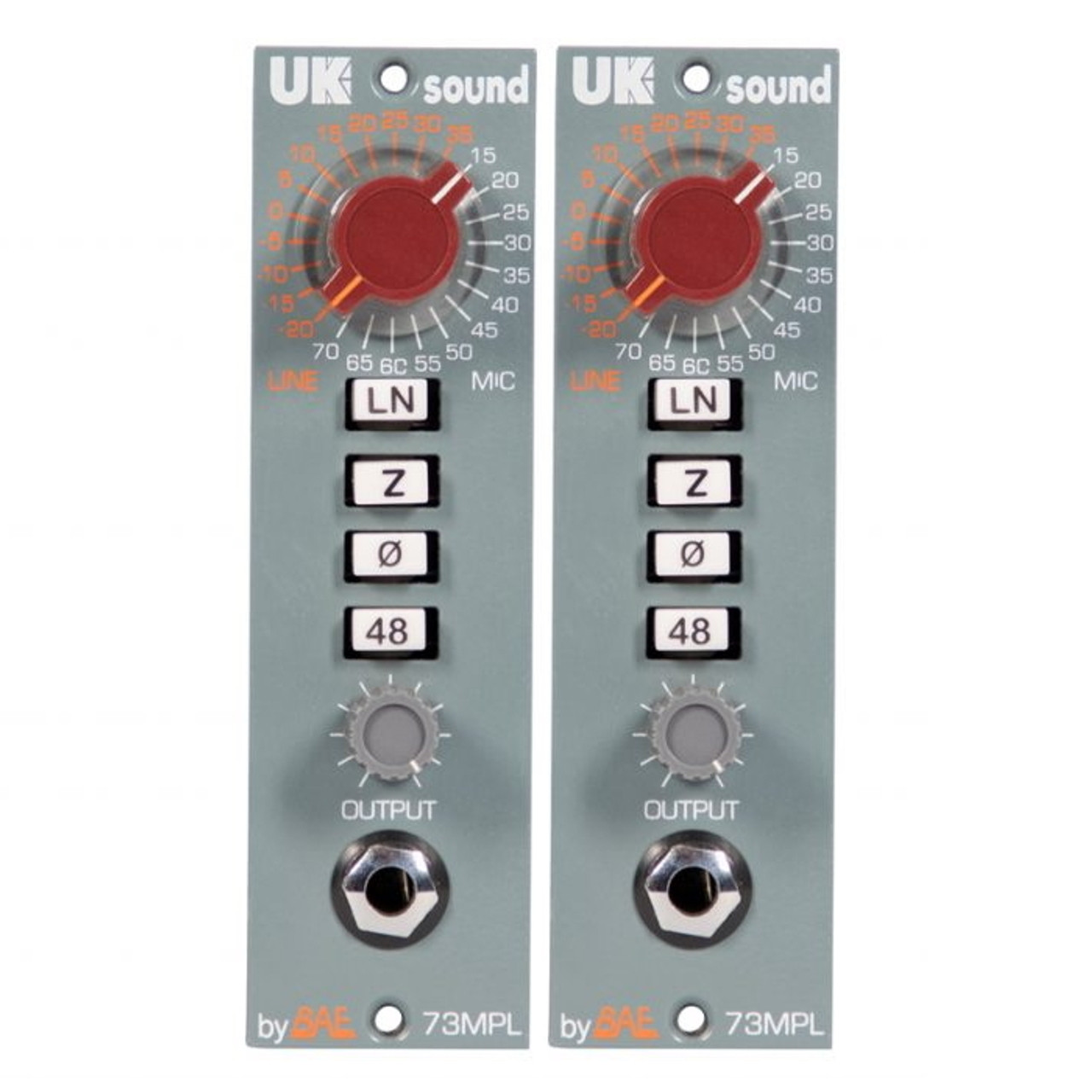 Uk Sound Mpl 500 Preamp Stereo Pair Zenpro Audio