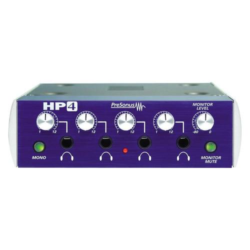 PreSonus HP4 Front at ZenProAudio.com