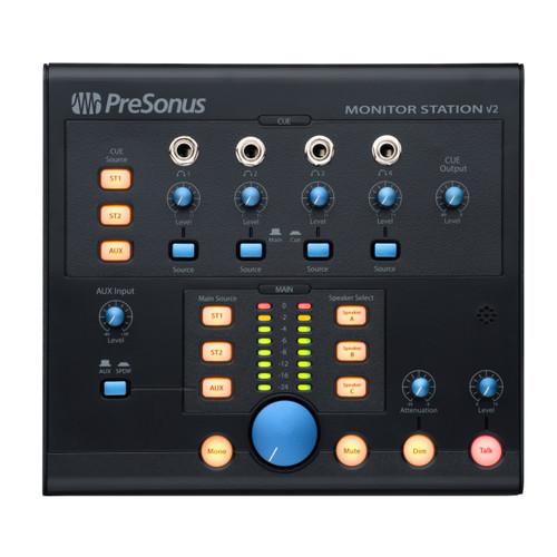 PreSonus Monitor Station V2 Front at ZenProAudio.com