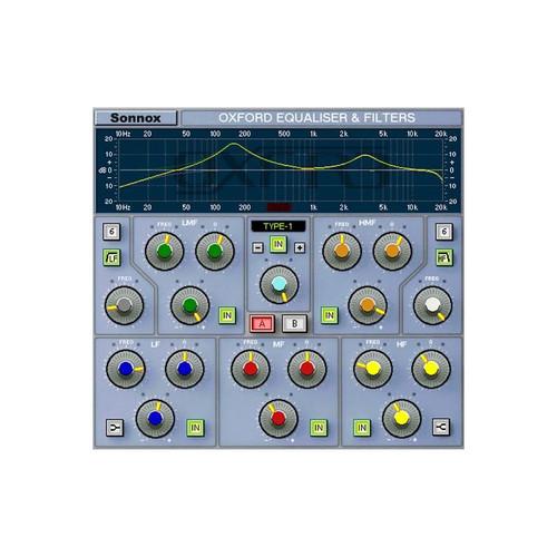 Sonnox HD EQ Front at ZenProAudio.com
