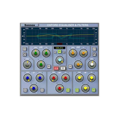 Sonnox HD EQ with GML Front at ZenProAudio.com
