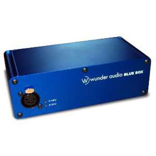 Wunder Blue Box PSU Angle at ZenProAudio.com