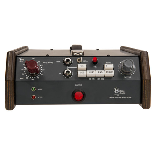 Heritage Audio TT73 Front at ZenProAudio.com