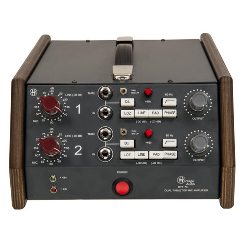 Heritage Audio DTT73 Front at ZenProAudio.com