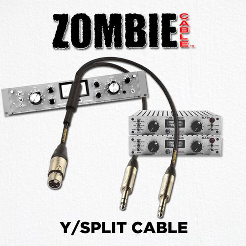 ZOMBIE Cable Y Split Details at ZenProAudio.com