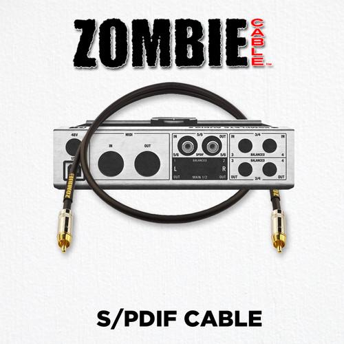ZOMBIE Cable SPDIF 75 OHM Details at ZenProAudio.com