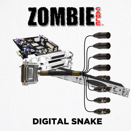 ZOMBIE Cable 8 Channel Digital Snake Details at ZenProAudio.com