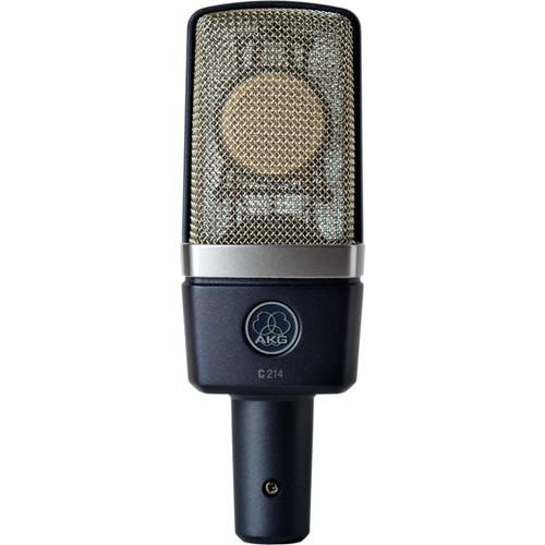 AKG C 214 Front at ZenProAudio.com