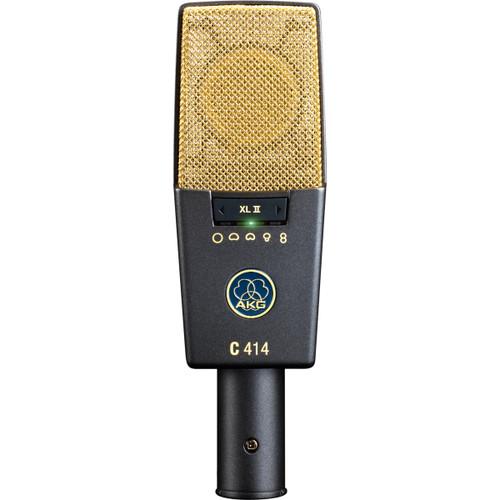 AKG C 414 XL II Front at ZenProAudio.com