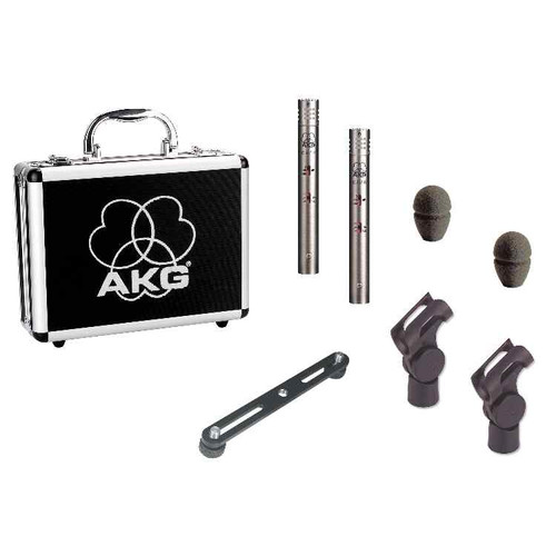 AKG C 451 B Stereo Set Detail at ZenProAudio.com