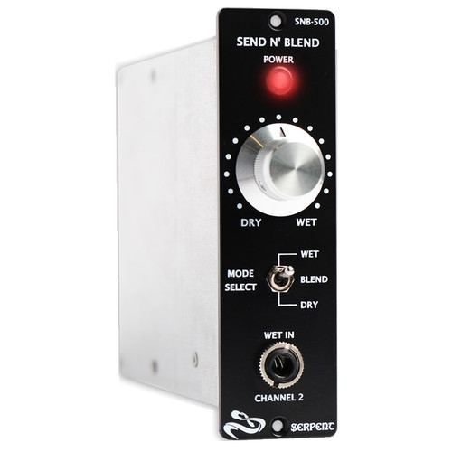 Serpent Audio Send N' Blend Front at ZenProAudio.com