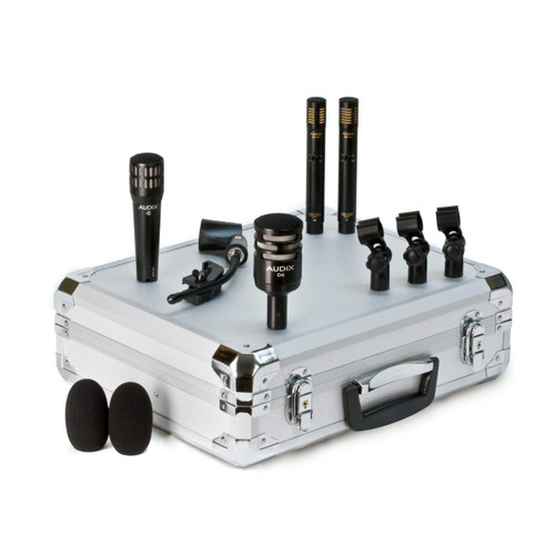 Audix DP-QUAD Front at ZenProAudio.com
