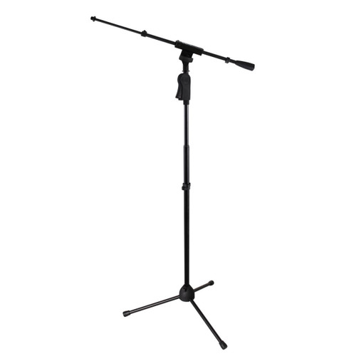 Gator Frameworks Microphone Deluxe Boom Stand Angle at ZenProAudio.com