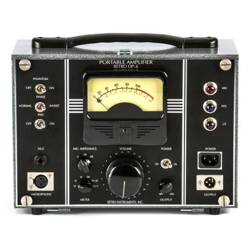 RETRO Instruments OP-6 Front at ZenProAudio.com