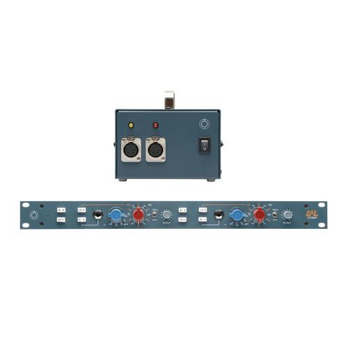 BAE 1073MPF Dual Channel Detail at ZenProAudio.com
