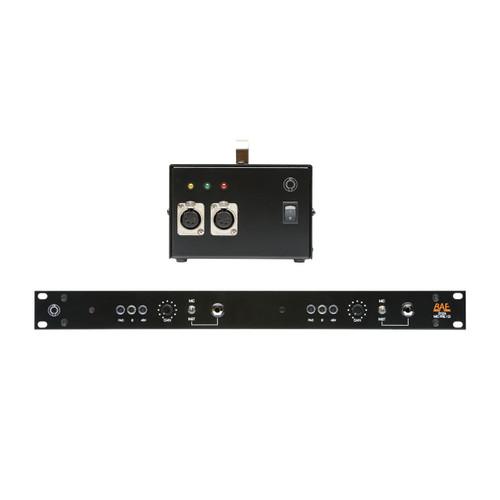 BAE 312A Dual Channel Detail at ZenProAudio.com