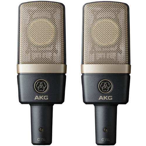 AKG C314 Matched Stereo Pair Image at ZenProAudio.com