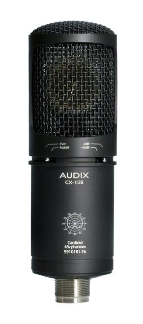 Audix CX-112B Front at ZenProAudio.com