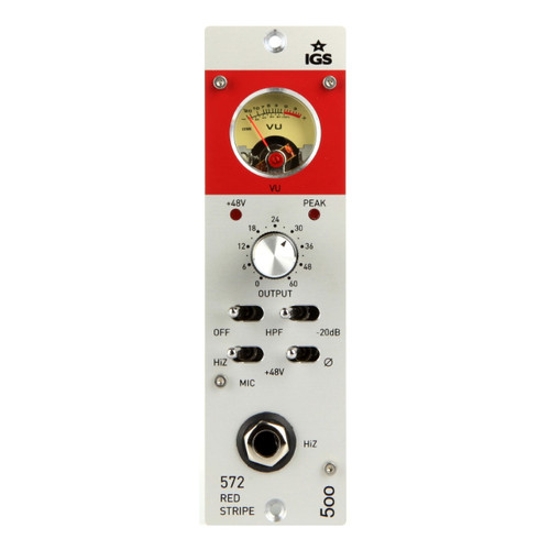 IGS Audio 572 Red Stripe Front