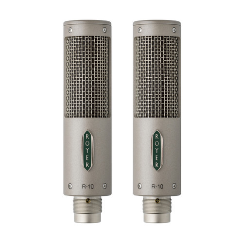 Royer Labs R-10 Matched Pair Microphones