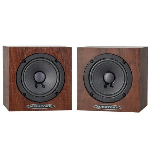 Auratone 5C Super Sound Cube Pair Mahogany