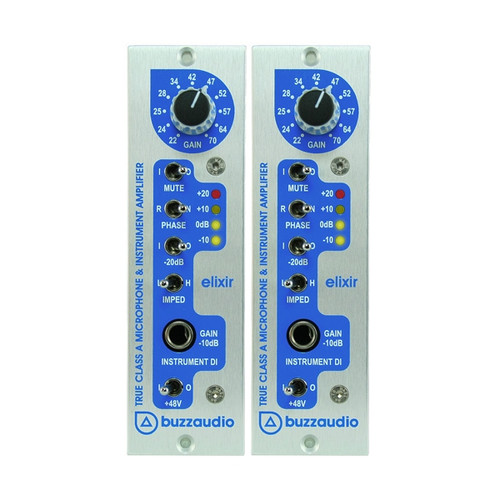 Buzz Audio Elixir Stereo Pair