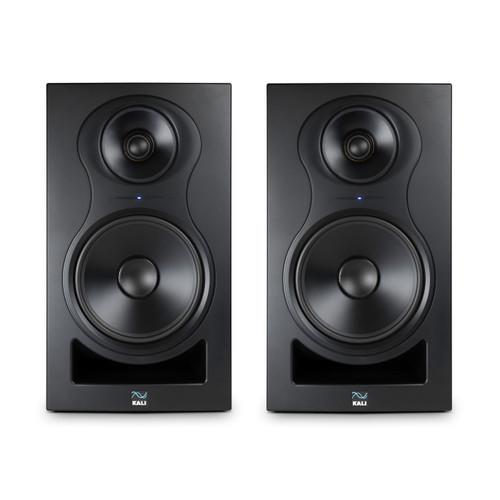 Kali Audio IN-8 Stereo Pair 3 Way Studio Monitors, Front