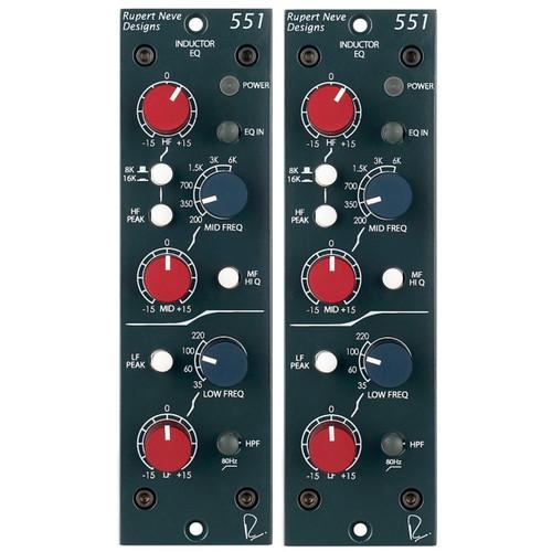 Rupert Neve Designs 551 Stereo Pair