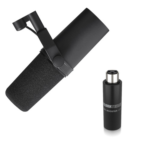 Shure SM7B Klark-Teknik CT1 Booster Bundle