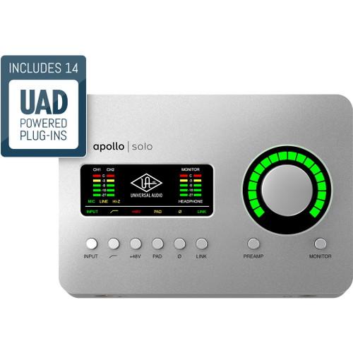 Universal Audio Solo Thunderbolt 3