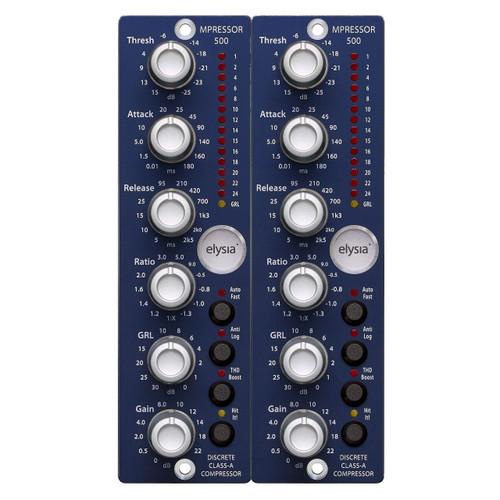 elysia mpressor 500 Stereo Pair