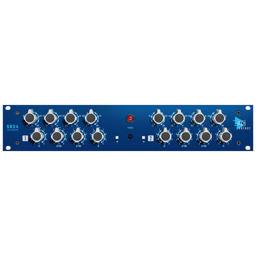 API Select SR24 2 Channel 4 Band EQ