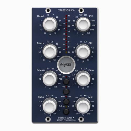 elysia xpressor 500 Front at ZenProAudio.com