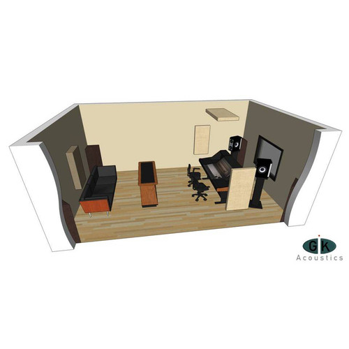 GIK Room Kit #3 Angle at ZenProAudio.com