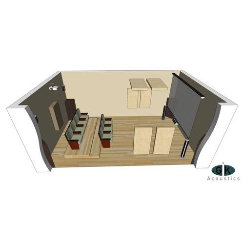 GIK Room Kit #4 Angle at ZenProAudio.com