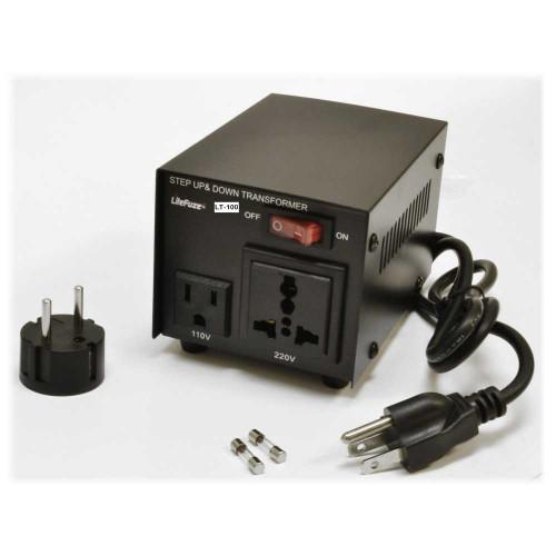 LiteFuze LT-100 Power Transformer Angle at ZenProAudio.com