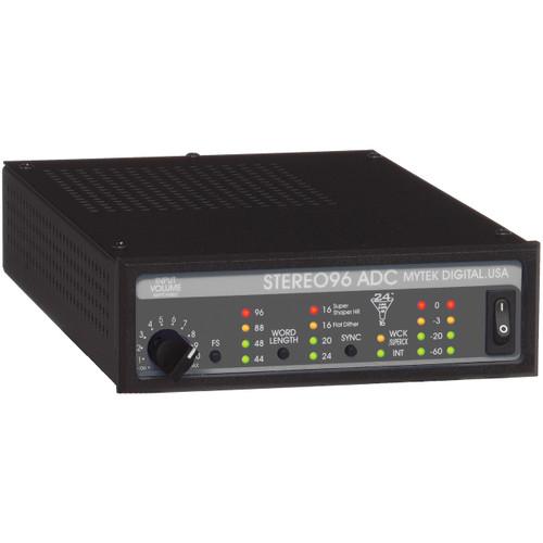Mytek Stereo96 ADC Front at ZenProAudio.com