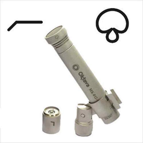 Oktava MK-012 Film Kit Silver Details at ZenProAudio.com
