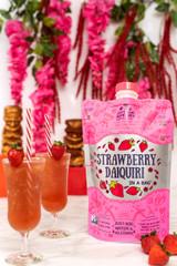 Non-GMO Strawberry Daiquiri in a Bag