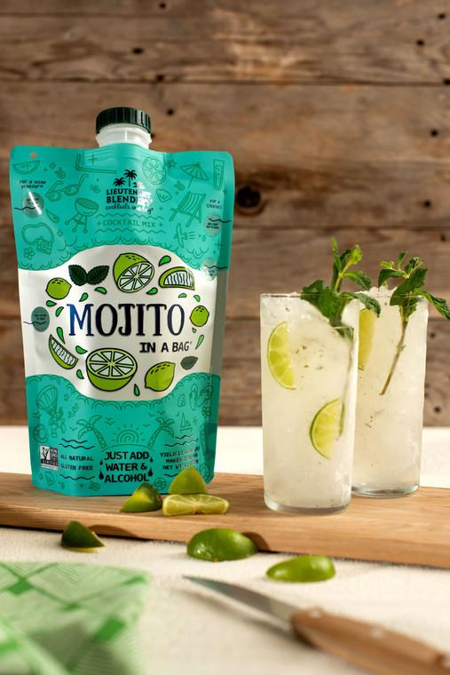 Non-GMO Mojito in a Bag